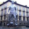 VIDEO: Ronaldo, Pallone d'Oro e statua in suo onore. Parodie