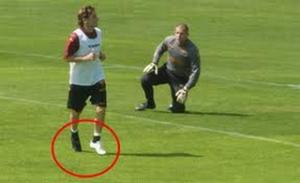 Le scarpe da calcio personalizzate di Francesco Totti