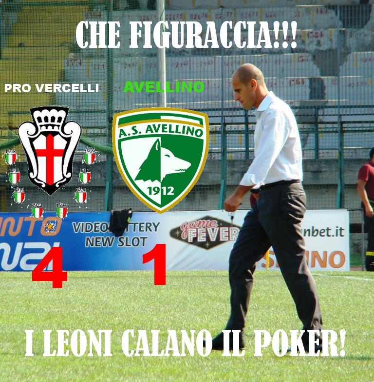 """Debacle Avellino, figuraccia al """"Piola"""". La Pro Vercelli ..."""