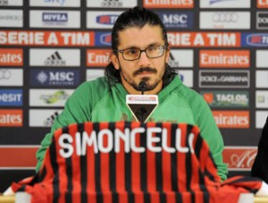 Rino Gattuso in conferenza stampa