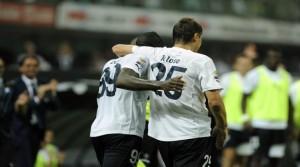 Djibril Cisse e Miroslav Klose