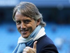 L'ex allenatore del Manchester City, Roberto Mancini
