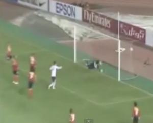 Il momento del goal (foto dalla rete)
