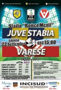 Ecco i prezzi dei tagliandi d'ingresso per Juve Stabia - Varese (fonte:Mario Miccio)