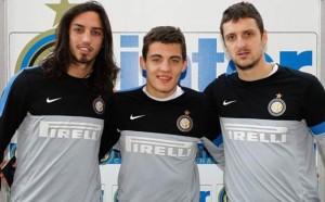 Schelotto, Kovacic e Kuzmanovic