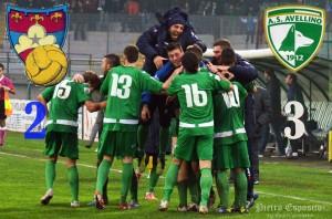 L'Avellino batte il Gubbio per 3-2 grazie ai goal di Angiulli, Zullo e Castaldo. Per i lupi vittoria che vale il +8 in classifica!