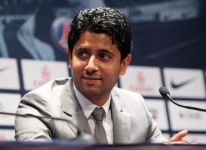 Nasser Al Khelaifi, presidente del PSG
