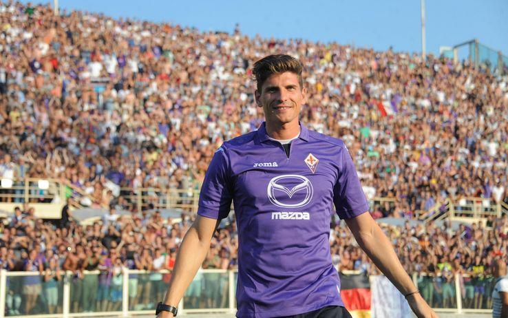 Mario Gomez  foto dalla rete Mario Gomez Fiorentina