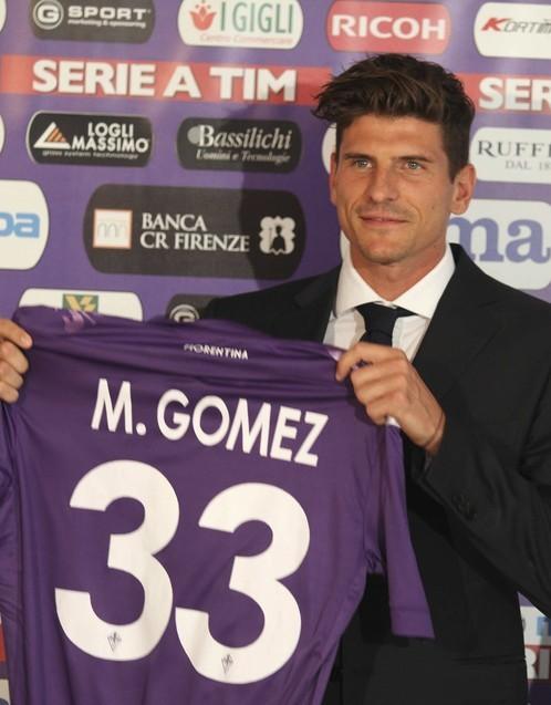 Mario Gomez foto whoate ti Mario Gomez Fiorentina