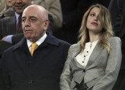 Galliani e Barbara Berlusconi