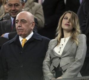 Galliani e Barbara Berlusconi