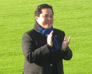 Erick Thohir presente alla Pinetina (foto Davì)