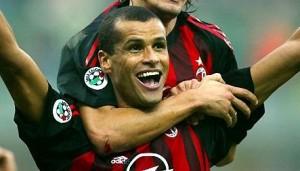 Rivaldo ai tempi del Milan  (foto www.calciosudamericano.it)