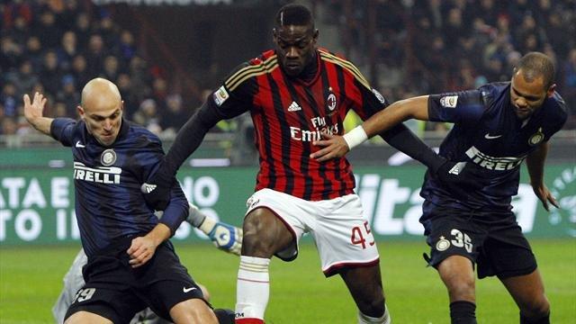 3 giocatori del derby di Milano foto dal web