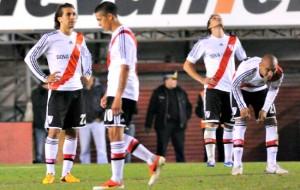 Il River Plate retrocesse nel 2011 nonostante gli aiutini venuti dall'AFA  (foto www.pasionmonumental.com)