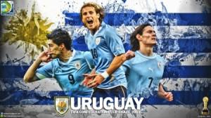 Il trio attaccante dell'Uruguay  (fonte foto  www.sports.desktopnexus.com)