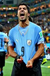 Luis Suarez, attaccante del Liverpool e della Nazionale uruguaiana (foto dalla rete)