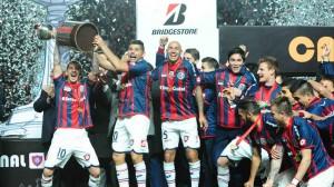 San Lorenzo campione del Sud America  (foto www.clarin.com)