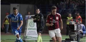 Torres in Empoli-Milan foto dal web