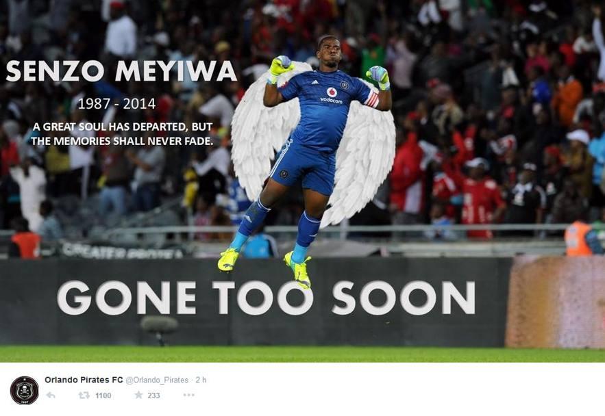 Senzo Meyiwa foto dal web