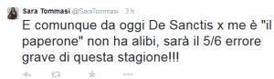 tweet tommasi roma1
