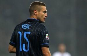 Vidic maglia Inter foto dal web