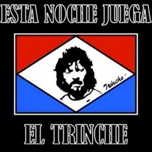 Esta noche juega el Trinche  (immagine tratta da Twitter)