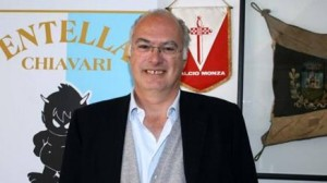 Il Presidente dell'Entella Antonio Gozzi (foto: gazzetta.it)