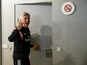 Carlo Ancelotti esonerato dal Real Madrid  (fonte foto www.elmundo.es)
