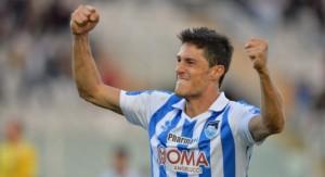 Federico Melchiorri, attaccante Pescara (foto dalla rete)