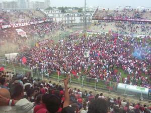 I tifosi del Taranto (foto dalla rete)