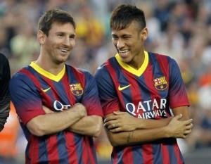 Lionel Messi e Neymar jr (foto dalla rete)