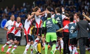 I giocatori del River Plate (Foto web)