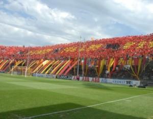 La curva del Benevento
