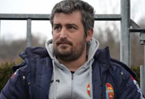 Andrea Fedeli ai tempi del Rieti
