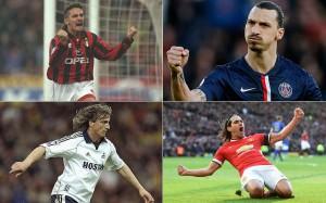 Baggio-Ibrahimovic-Ginola-Falcao