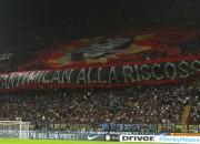 Coreografia tifosi Milan (foto dalla rete)