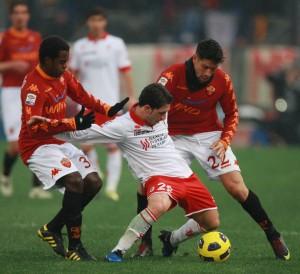 Strambelli in Serie A in un Roma-bari