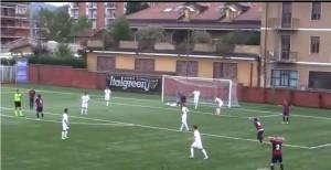 Il gol di Rusca non convalidato