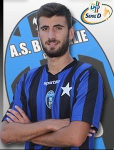 Emilio Volpicelli, attaccante del Bisceglie (foto: forzabisceglie.it)