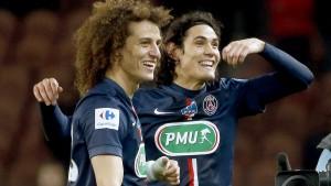 David Luiz e Cavani
