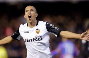 Sofiane Feghouli, centrocampista del Valencia