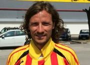 Tommaso Marolda, attaccante dell'Olympia Agnonese