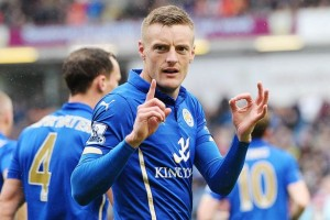 Jamie Vardy, attaccante Leicester