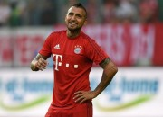 Arturo Vidal, centrocampista del Bayern Monaco