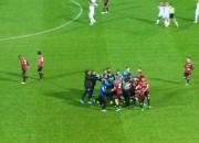 I festeggiamenti al gol di Sarno