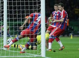 La difesa del Bayern (foto dal web)