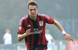 Gianfilippo Felicioli, giovane difensore del Milan