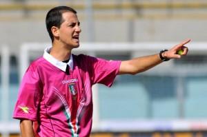 L'arbitro Stefano Giovani