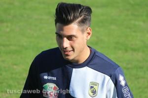 Daniele Ansini, centrocampista della Viterbese (foto: tusciaweb.eu)